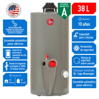Termotanque a Gas GLP 38 L