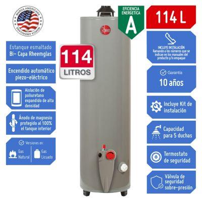 Termotanque a Gas GLP 114 L