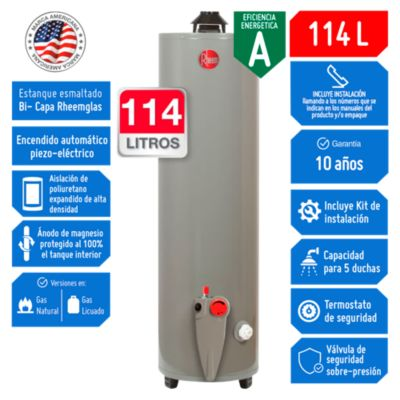 Termotanque a Gas GN 114 L