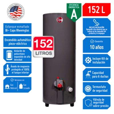 Termotanque a Gas GN 152 L