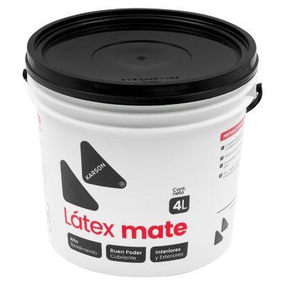 Pintura Látex Mate Mango 4L