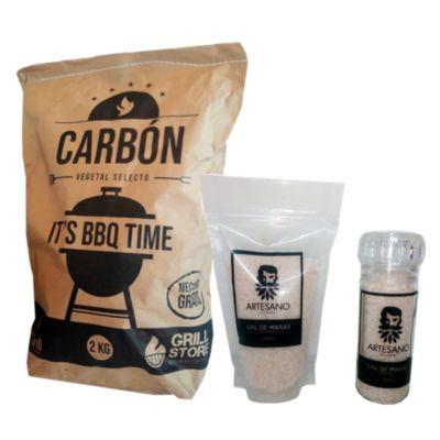 Pack Carbón + Kit de sal