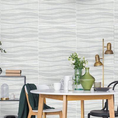 Cerámica Oxford Plata Ondas Rústico 30x60cm para piso o pared