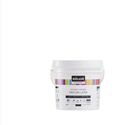 Pintura Látex Standard Mate Blanco Ostra 4L