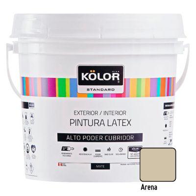 Pintura Látex Standard Mate Arena 4L