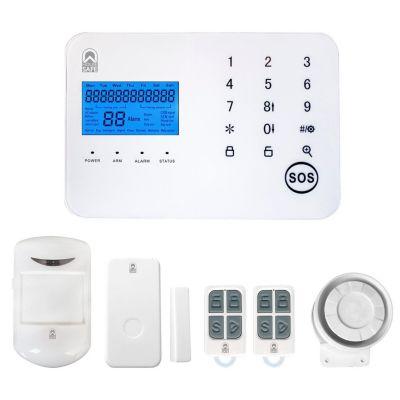 Kit Alarma con Sensor/Control/Sirena