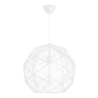 Lámpara Colgante Mohair 1 Luz Blanco