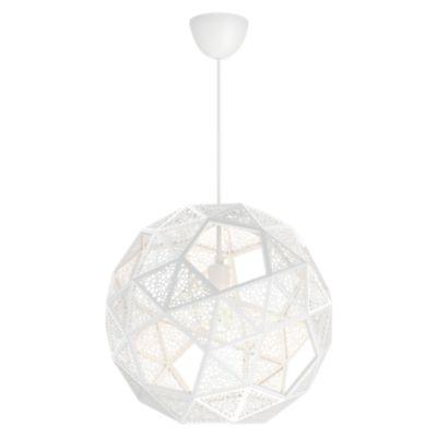 Lámpara Colgante Dowlas 1 Luz Blanco