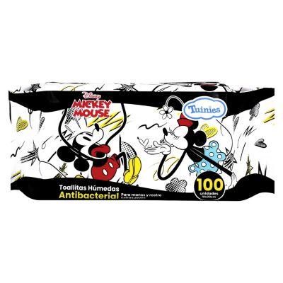 Toallas Húmedas Mickey 100 Unidades