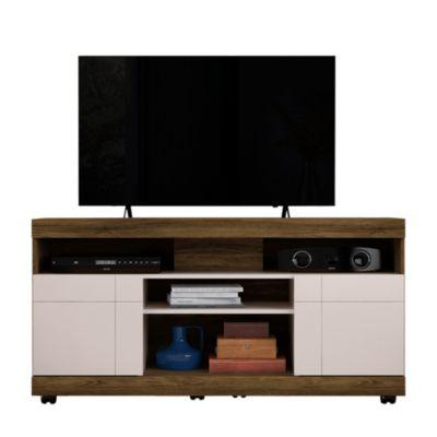 Mesa TV Yara Canela/Blanco 55''