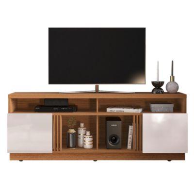 Mesa TV Itapua Natural/Blanco70''