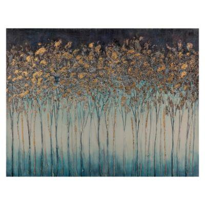 Canvas Floral Árboles 80x60cm