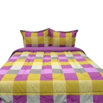 Set de Cama Queen Yasira Multicolor