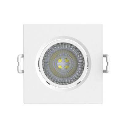 Spot LED 5W/830 Cuadrado Luz Cálida