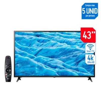 Combo Televisor Smart LED UHD 43'' 43UM7100PSA LG + Magic Remote 2019