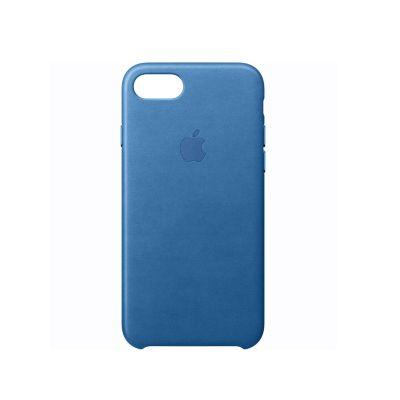 Case iPhone 7 Cuero Sea Blue
