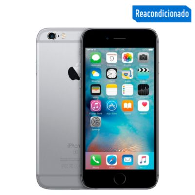 "iPhone 6S Plus 5.5"" 64GB Gris  - Reacondicionado"