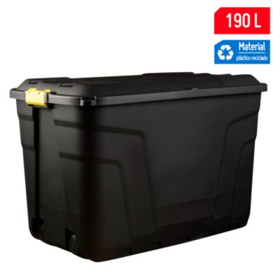 Caja Heavy Duty con Ruedas 190 L