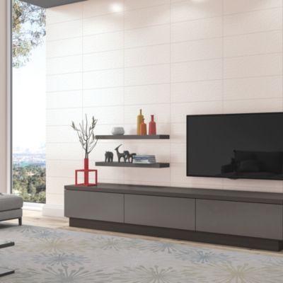 Cerámico Lux Blanco 20x60cm 1.95m2