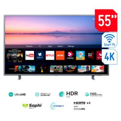Televisor Smart TV UHD 4K 55'' 55PUD6703