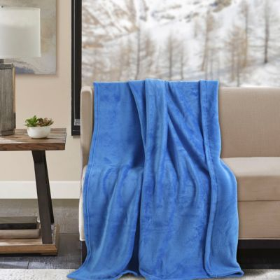 Manta Flanel 110x140cm Azul
