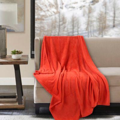 Manta Flanel 110x140cm Roja