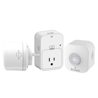 Combo Enchufe Inteligente DSP-W215 + Sirena Wi-Fi DCH-S220 + Sensor de Movimiento DCH-S150