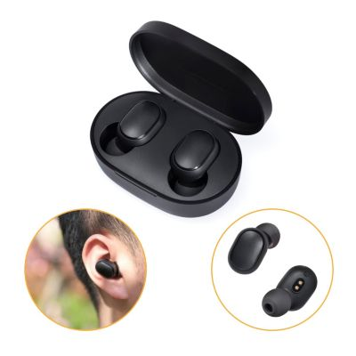 Audífonos Bluetooth Earbuds/Airdots Basic 2 Negro