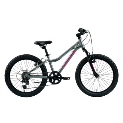 "Bicicleta Luna Aro 20"" Negro/Plata"