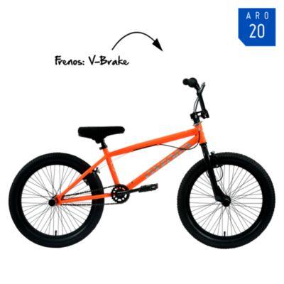 "Bicicleta Spine Aro 20"" Naranja"