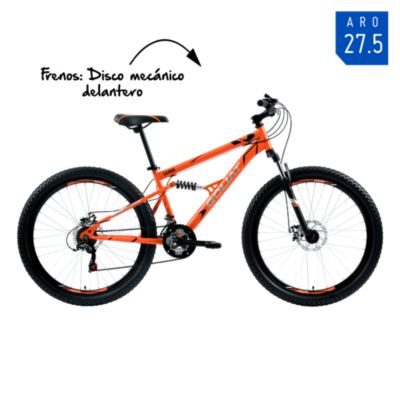 Bicicleta Hombre Sierra Naranja - aro 27.5