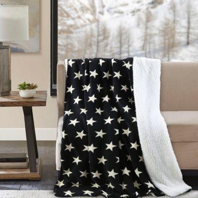 Manta Estrella Negro