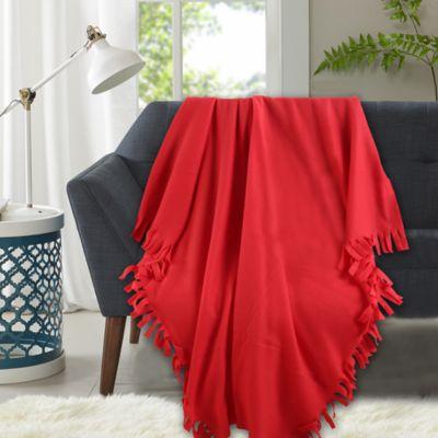 Manta Polar 120x150cm Rojo