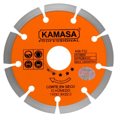 Disco Diamantado 110 Naranja