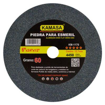 Piedra para Esmeril 6''x3/4''x1/2'' A60