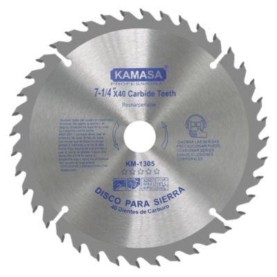 Disco para Sierra 71/4x40Tx7/8''