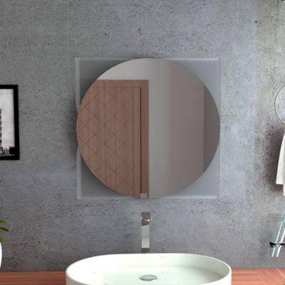 Espejo Salermo Cuadrado 60x60x3.4 cm