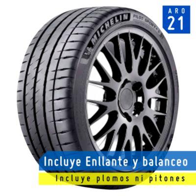 Llanta 295/35R21 Pilot Sport 4