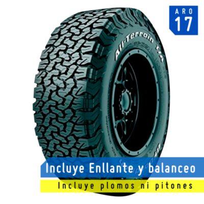Llanta LT265/75R17 123/120R TL All Terrain T/A KO2