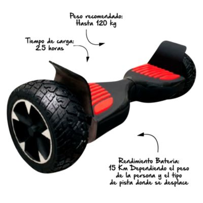 Scooter Smart Balance Todo Terreno