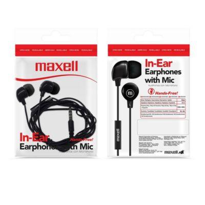 Audífonos IN-BAX c/Micro Negro