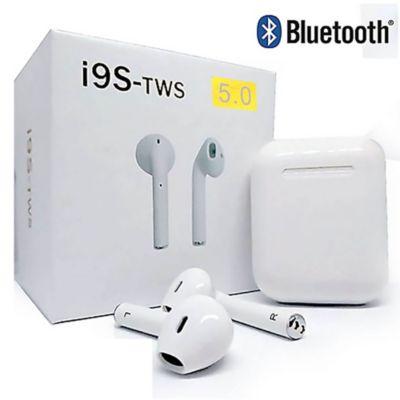 Audífonos Bluetooth Inalámbricos I9S TWS c/Carga Portátil 5.0