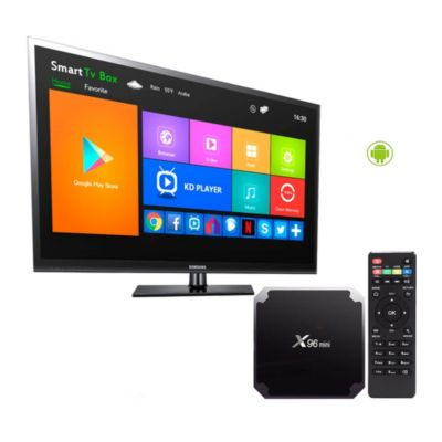 TV Box Android X96 Mini 4K Quad Core 2 GB 16GB