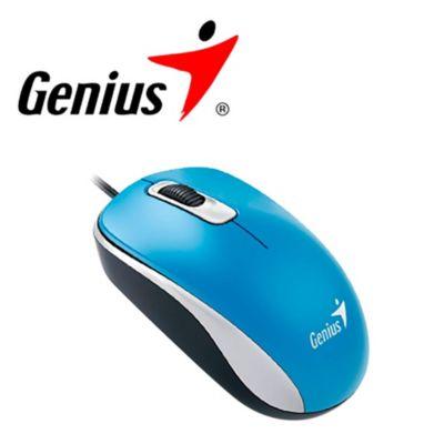 Mouse Óptico DX-110 Azul
