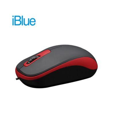 Mouse Óptico USB XMK-180 Rojo