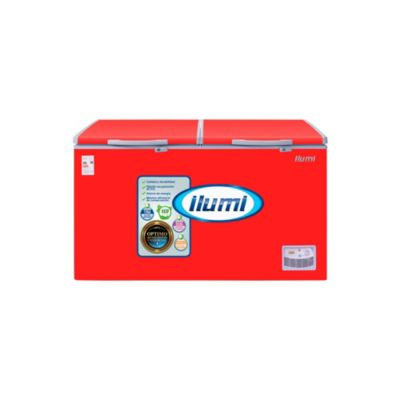 Congeladora/Conservadora Horizontal 440L Rojo