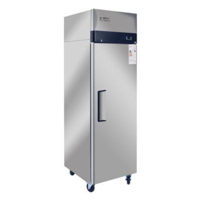 Congeladora Vertical 700L Acero Inoxidable