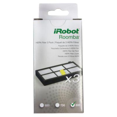 Set x3 Filtros Hepa Roomba