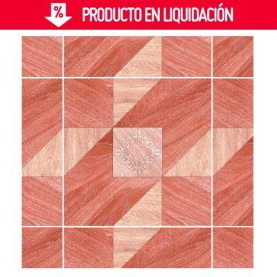 Cerámico Madera Fashion Marrón 60x60cm 1.44m2