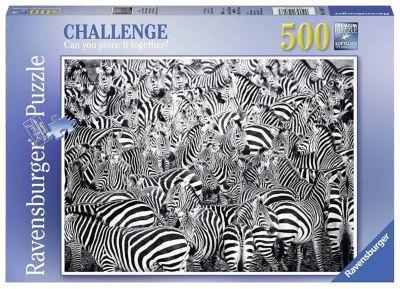 Rompecabezas 500 piezas Reto de Cebras